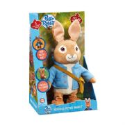 Talking & Hopping Peter Rabbit Soft Toy